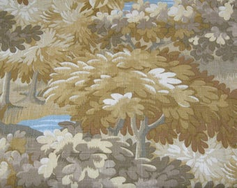 "The Sommers Collection, Robert Allen Fabric, ""Scenic Flora"" Golden Tree Fabric. Very Nature Looking."