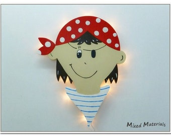 Children - snooze lamp * pirate *.