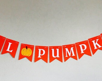 Lil Pumpkin Banner