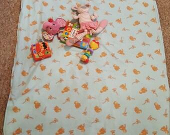 Curios George Floor Blanket