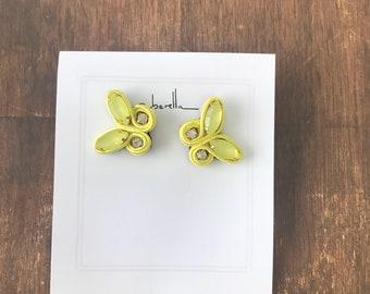 Soutache butterflies earrings