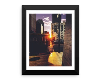 New Orleans Wall Art - Streetcar on Carondelet, New Orleans Photo Print, 8x10 in.