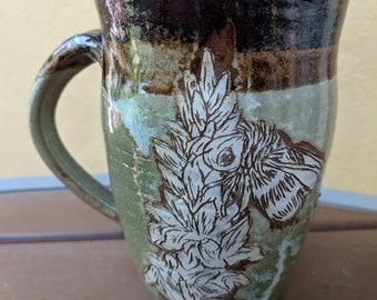 Bee on Flower Mug