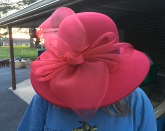 Women's Felt Kentucky Derby Hat