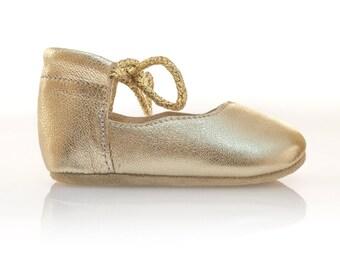 Oro bambino scarpe bambino scarpe ragazza Baby doccia regalo bambino mocassini neonato bambino pantofole bambino battesimo scarpe da Vibys