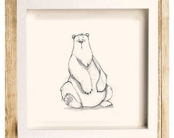 """""""Cheer bear"""", reproduction quality."""