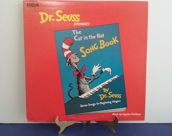 Dr Seuss - The Cat In The Hat Song Book - Circa 1967