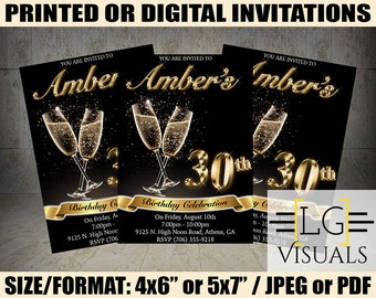 30th birthday invite etsy black and gold birthday invitation black and gold invitations dirty 30 birthday invitation 30th birthday invitation classy invites filmwisefo