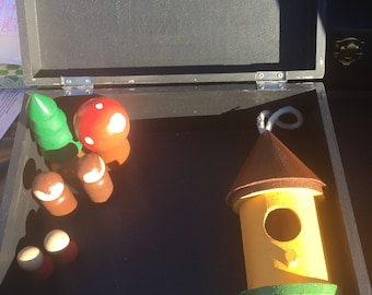 Tiki Hut & Monkey's Playset