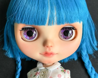 "OOAK SA Handmade 12""Blythe custom eye chips - P1678"