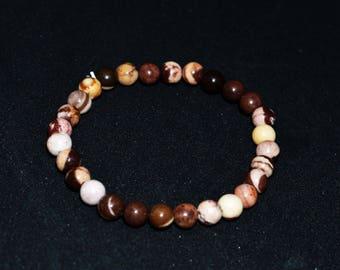 Brown Zebra Jasper bracelet
