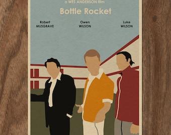 BOTTLE ROCKET Limited Edition Movie Print