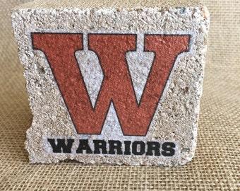 Westwood High School - Spirit Stone decor
