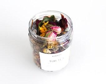 Wild Flowers + Herbs // Tub Tea