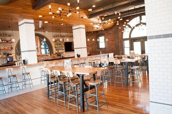 Good Industrial Bar Height Tables