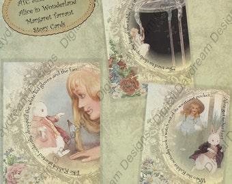 Alice in Wonderland Printables Tarrant Digital Download