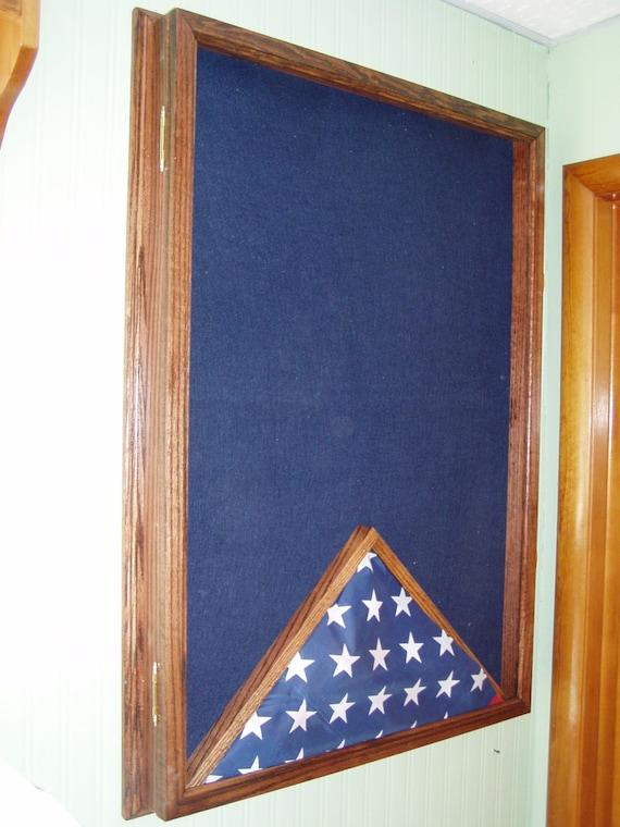 Military Uniform Display Case Memorial Flag Case Award Honor