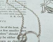 Two circles pendant...
