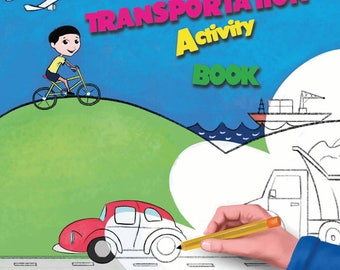 Transportation Activity and Imagination Book (Download)