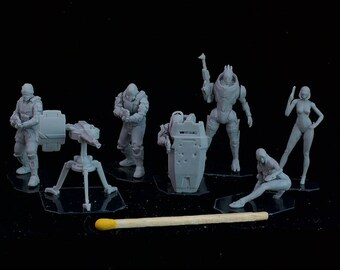 28mm Mass Effect MegaPack set - 6 figures +1 FREE