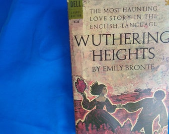 Wuthering Heights by Emily Bronte- Dell Laurel Edition 1960s Printed in USA 351 pages Paperback Edition