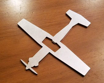 T-6 Texan II Primary Trainer Aircraft Bottle Opener - Aviation - Pilot Gift