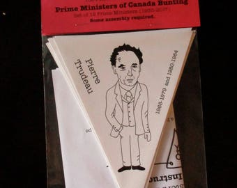 Prime Ministers Bunting