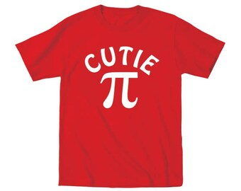 Cutie Pi Cute Funny Baby Kids Nerdy Outfit Gift Toddler T-Shirt DT0340