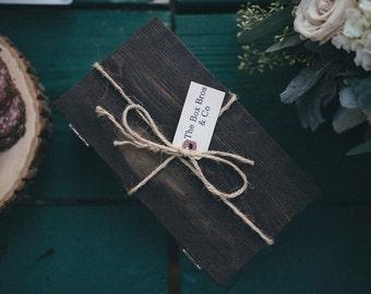 Best Groomsmen Gift-One Handmade Wooden Gift Box, Money Clip,Tie Clip,Cuff Links,Collarstay,Barber Razor,Shot Glass,Oil Lighter,Cigar Cutter