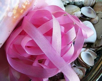 Vintage- Seam Binding- Siam Pink-Silky-Shabby