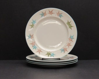 Vintage Franciscan 'Sycamore' Bread and Butter Plates, Set of 4 (E5525)