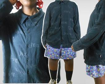 Versace/ Versace Shirt/ Versace Men/ Versace Shirt Men/ Versace Sweater/ Health Goth/ Normcore/ Goth Shirt/ Designer Shirt/ Mens Dress Shirt