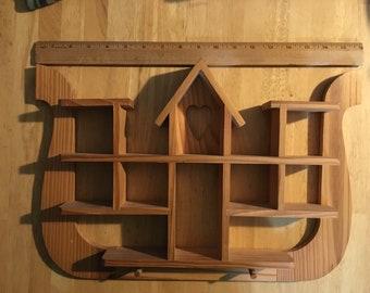 Unique knick knack shelf