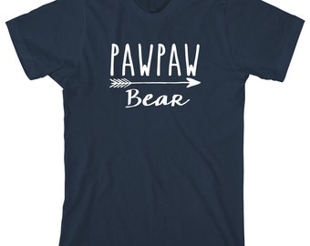 Pawpaw Bear Shirt - father's day gift idea, papa, pawpaw, Christmas gift, birthday gift, fisherman gift - ID: 1911