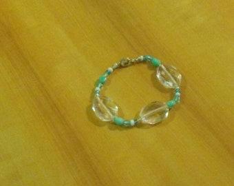 Beautiful Handcrafted Ocean Themed Beaded Bracelet