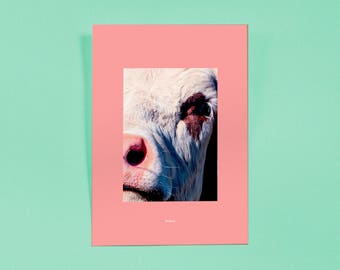 Kauing Cow II — art Print | Artwork | Poster Series | Finer Exclusive Print, Limited