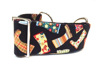 Martingale collar, Greyhound collar, sighthound collar, walking collar, dog collar, lurcher collar, borzoi collar