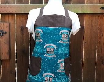Adult apron, Women's apron, Aprons, Fantastic Beasts inspired apron