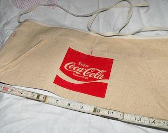 Vintage Enjoy Coca Cola Change Apron 1970's