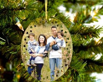 Family Ornament   Family Photo Ornament   Tree Ornament   Family Gift   Grandparent Gift   Personalized Ornament   Custom Ornament