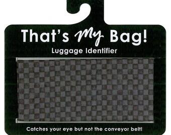 That's My Bag - Black Checkers
