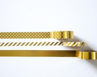 Metallic Gold Washi Tape
