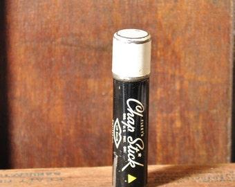 1940s Chap Stick Tin Advertising Metal