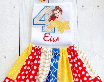 Belle Birthday outfit