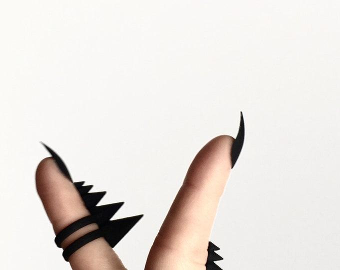 Black Thagomizer Ring