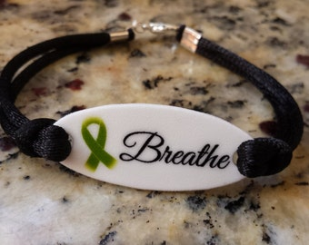 Breathe - Mental Health Awareness Bracelet