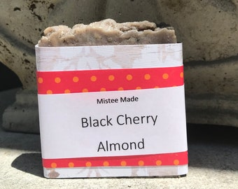 Black Cherry Almond soap