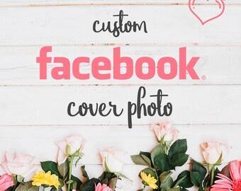 Custom Facebook Cover Photo Design, Facebook Cover Template, Branding, Facebook, Design, Facebook Banner, FB Cover Design, Graphic Design