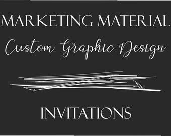 Custom Graphic Design - Invitations
