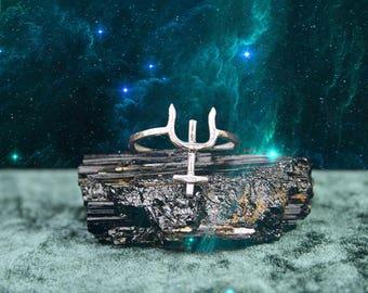 The Neptune Ring - Master Planet Energy Talisman